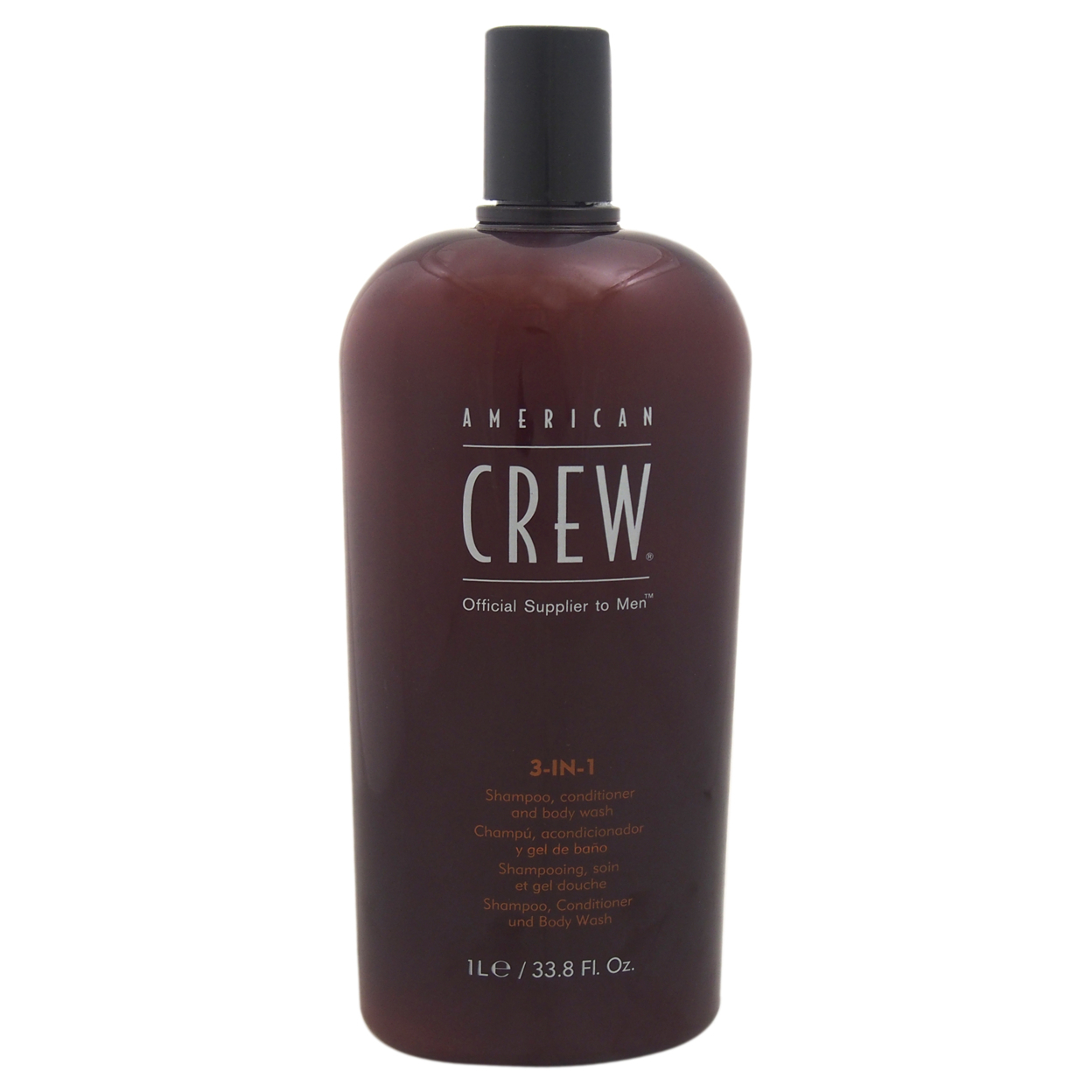 3 In 1 Shampoo & Conditioner & Body Wash by American Crew for Men - 33.8 oz Shampoo & Conditioner & Body Wash 55bf9d99a2771cac518b4aa9