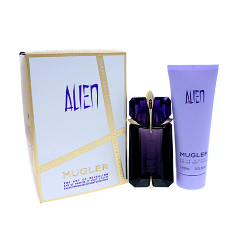 buy alien by thierry mugler for women 2 pc gift set 2oz edp spray radiant body lotion. Black Bedroom Furniture Sets. Home Design Ideas