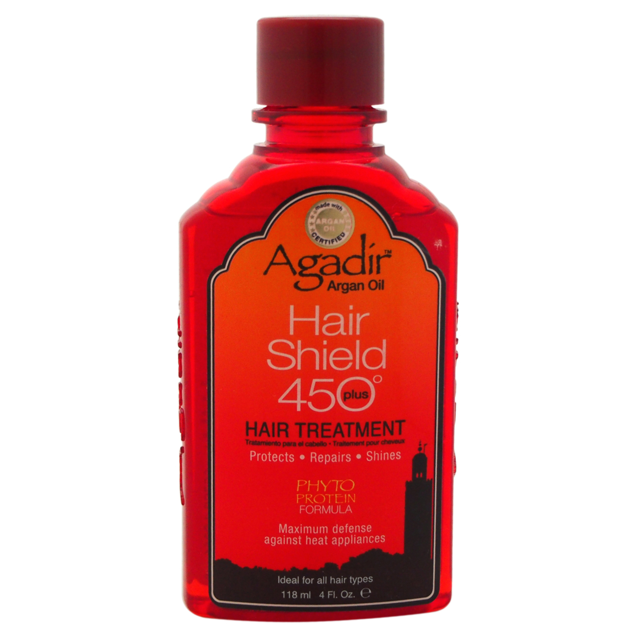 Argan Oil Hair Shield 450 Hair Oil Treatment by Agadir for Unisex - 4 oz Treatment 56d0b847a3771c66288b5ff7