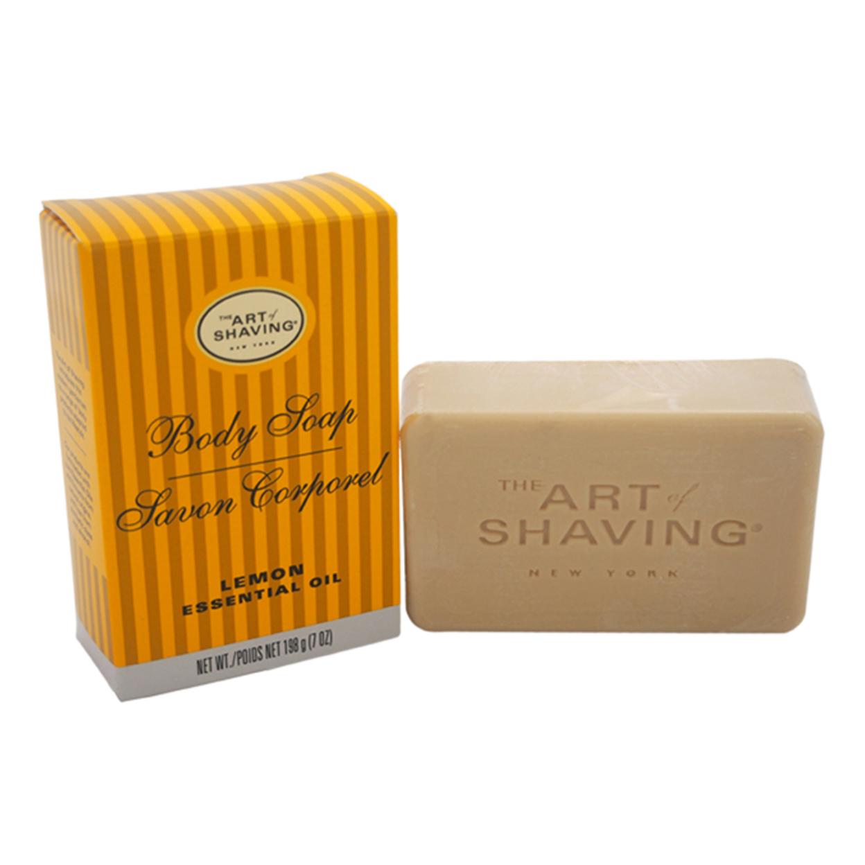 Body Soap - Lemon by The Art of Shaving for Men - 7 oz Soap 58545f8be22461109e6d78ae