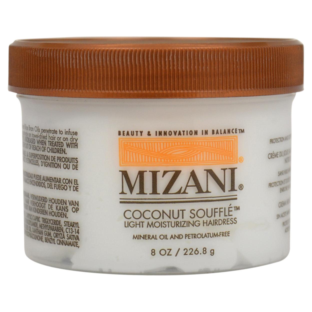 Coconut Souffle Light Moisturizing Hairdress by Mizani for Unisex - 8 oz Hairdress 5898e1bdc98fc450900ecd6e