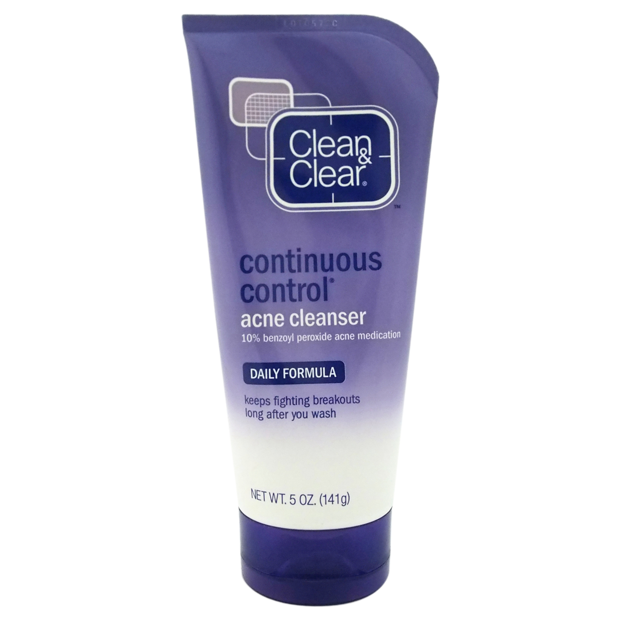 Daily Formula Continuous Control Acne Cleanser by Clean & Clear for Unisex - 5 oz Cleanser 5898e199c98fc450900ec82e