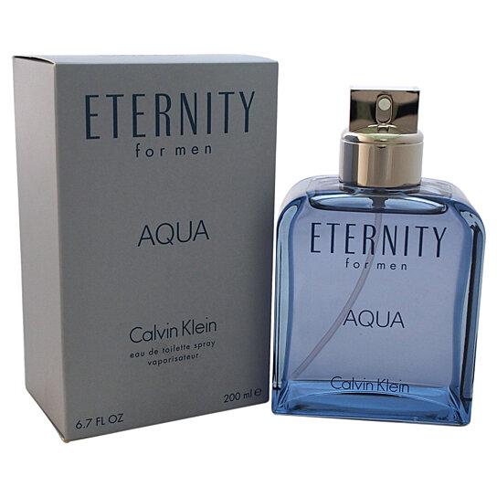buy eternity aqua by calvin klein for men 6 7 oz edt. Black Bedroom Furniture Sets. Home Design Ideas