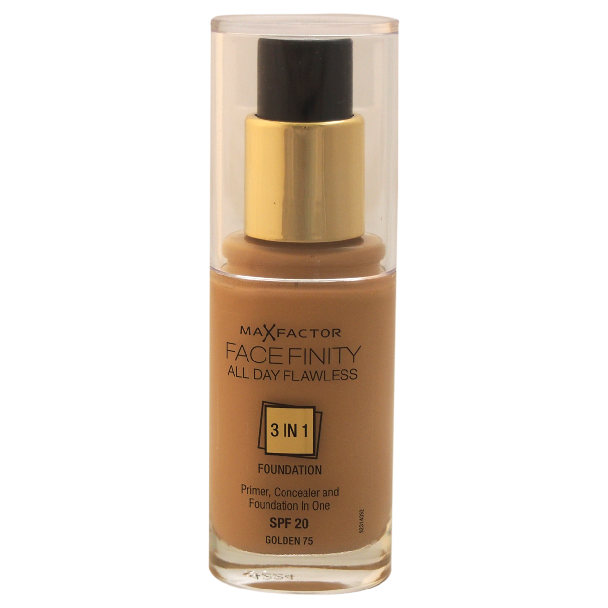 Facefinity All Day Flawless 3 In 1 Foundation Spf20 - # 75 Golden by Max Factor for Women - 1 oz Foundation 55bf9d6da2771c7c648b4e0c
