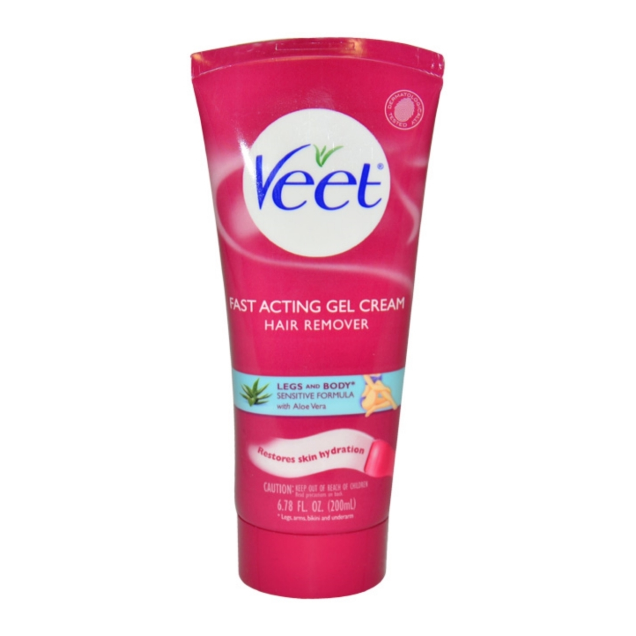 Fast Acting Gel Cream Hair Remover by Veet for Women - 6.78 oz Hair Remover 583c6acae2246159f05af57d