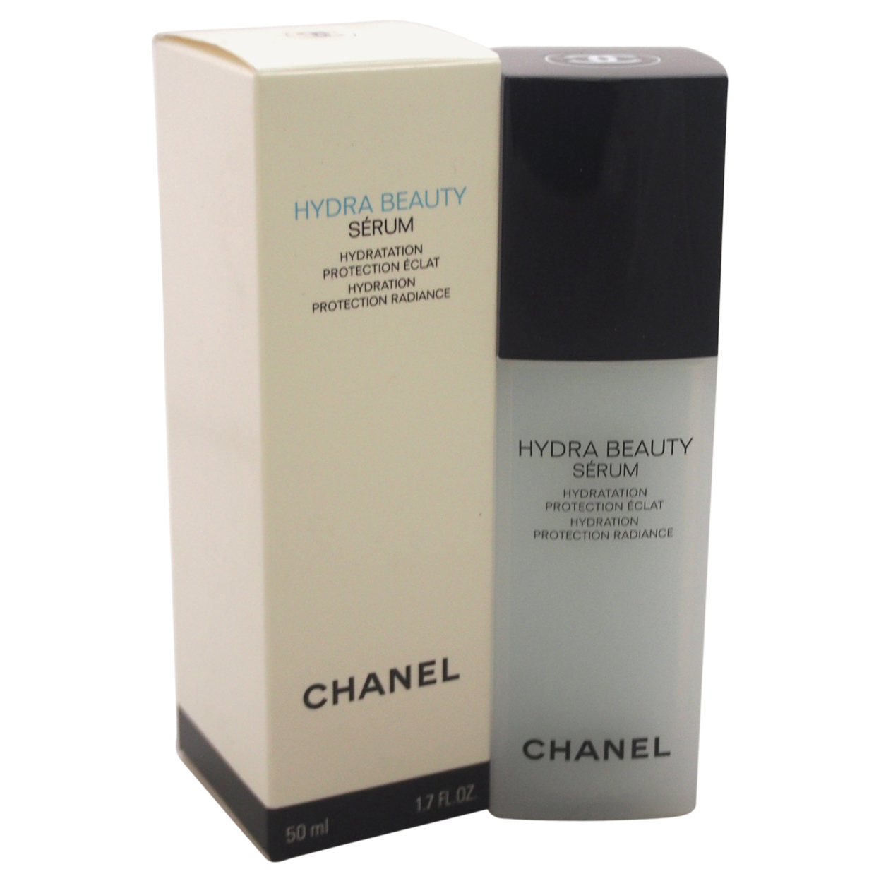 Hydra Beauty Serum Hydration Protection Radiance By Chanel For Unisex 1.7 Oz Serum