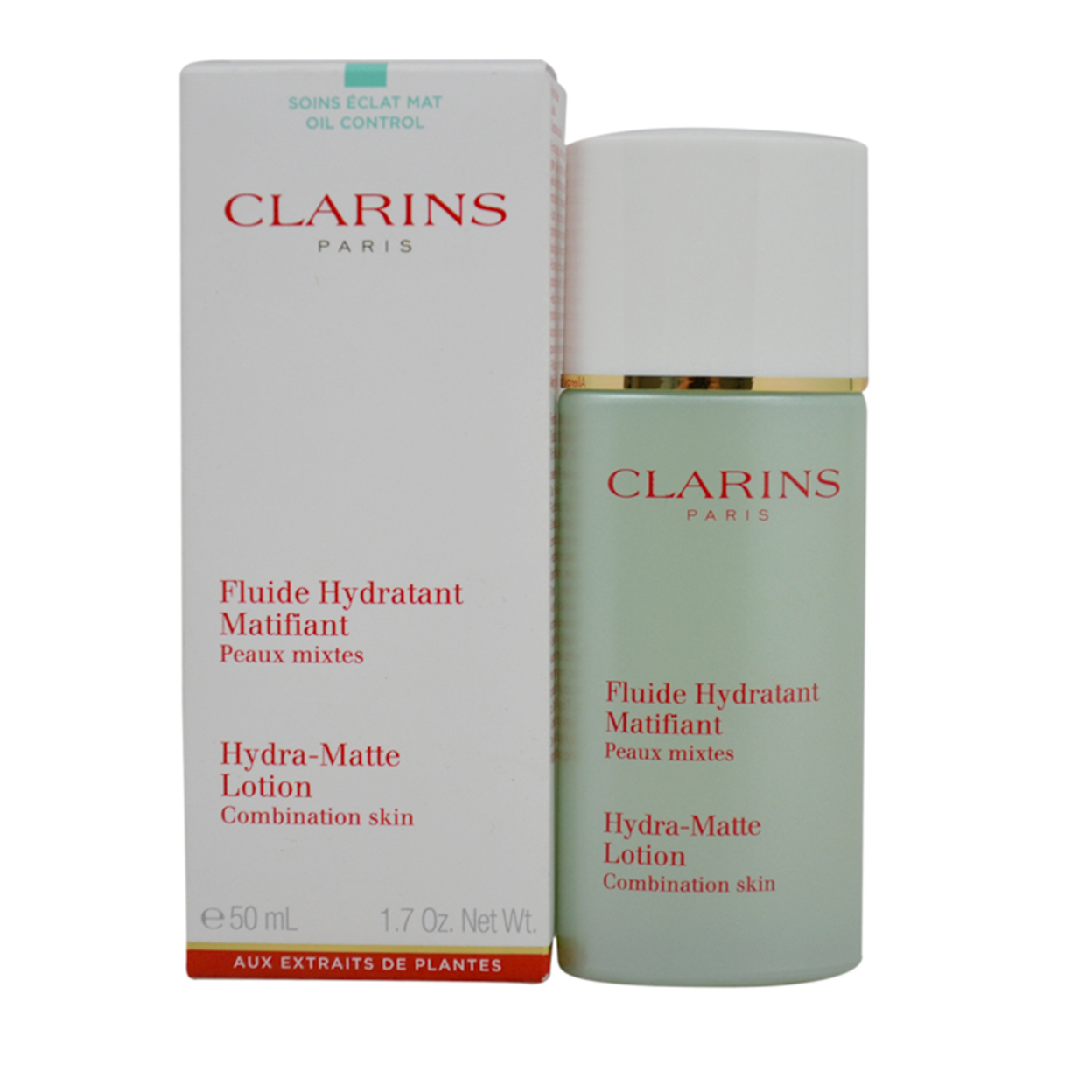 Hydra-matte Lotion Combination Skin By Clarins For Unisex 1.7 Oz Lotion