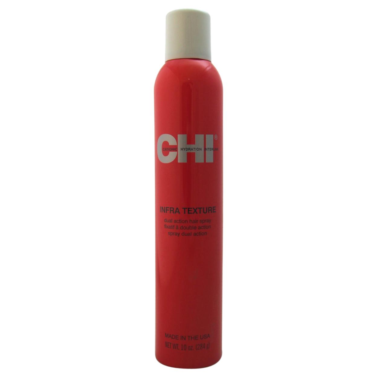 Infra Texture Hair Spray by CHI for Unisex - 10 oz Hairspray 55bf9dafa2771c64648b561f