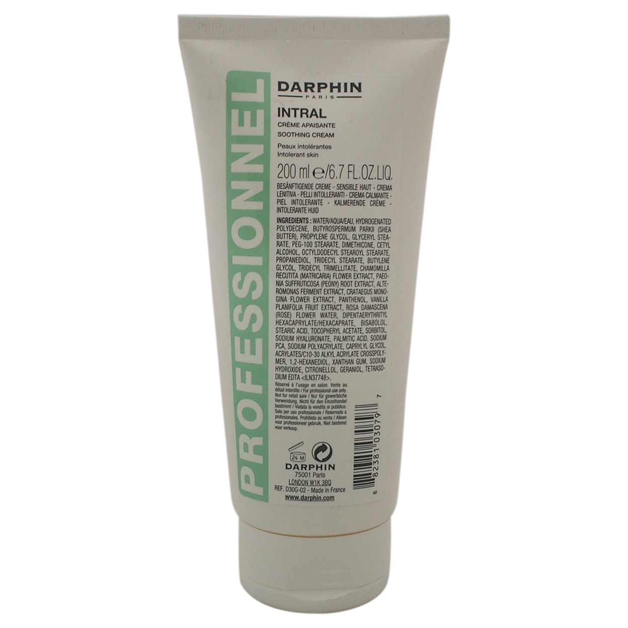 Intral Soothing Cream By Darphin For Women 6.7 Oz Cream