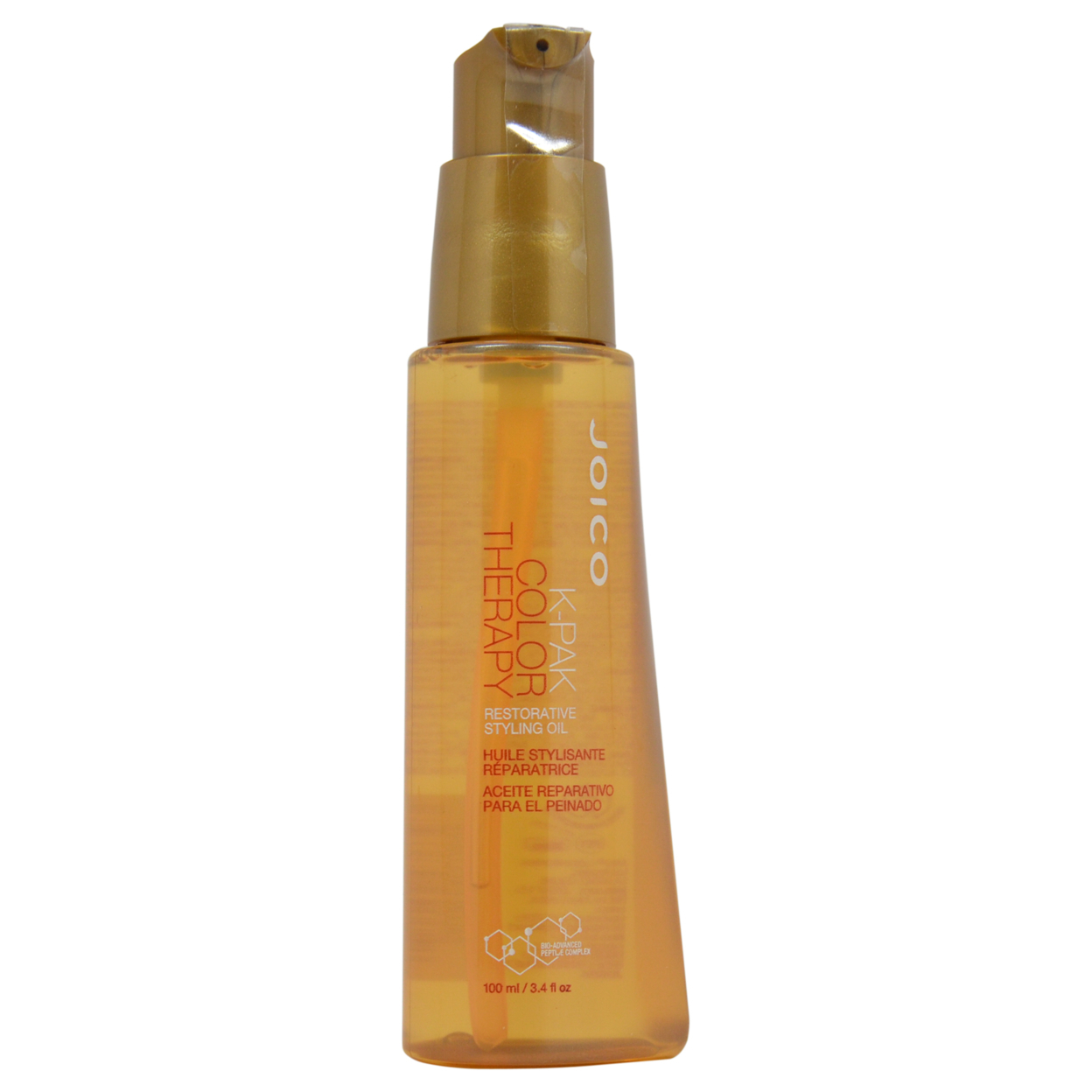 K-Pak Color Therapy Restorative Styling Oil by Joico for Unisex - 3.4 oz Oil 583c6c5ce2246159f167e05d