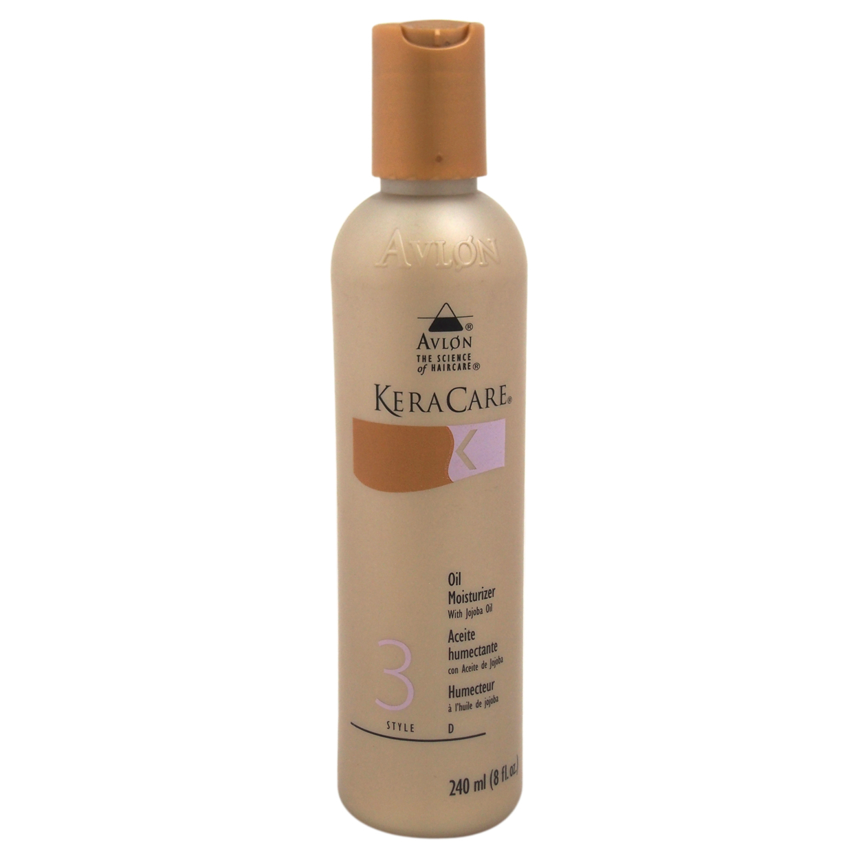KeraCare Oil Moisturizer With Jojoba Oil by Avlon for Unisex - 8 oz Oil Moisturizer 5898e18bc98fc450945d6cc3