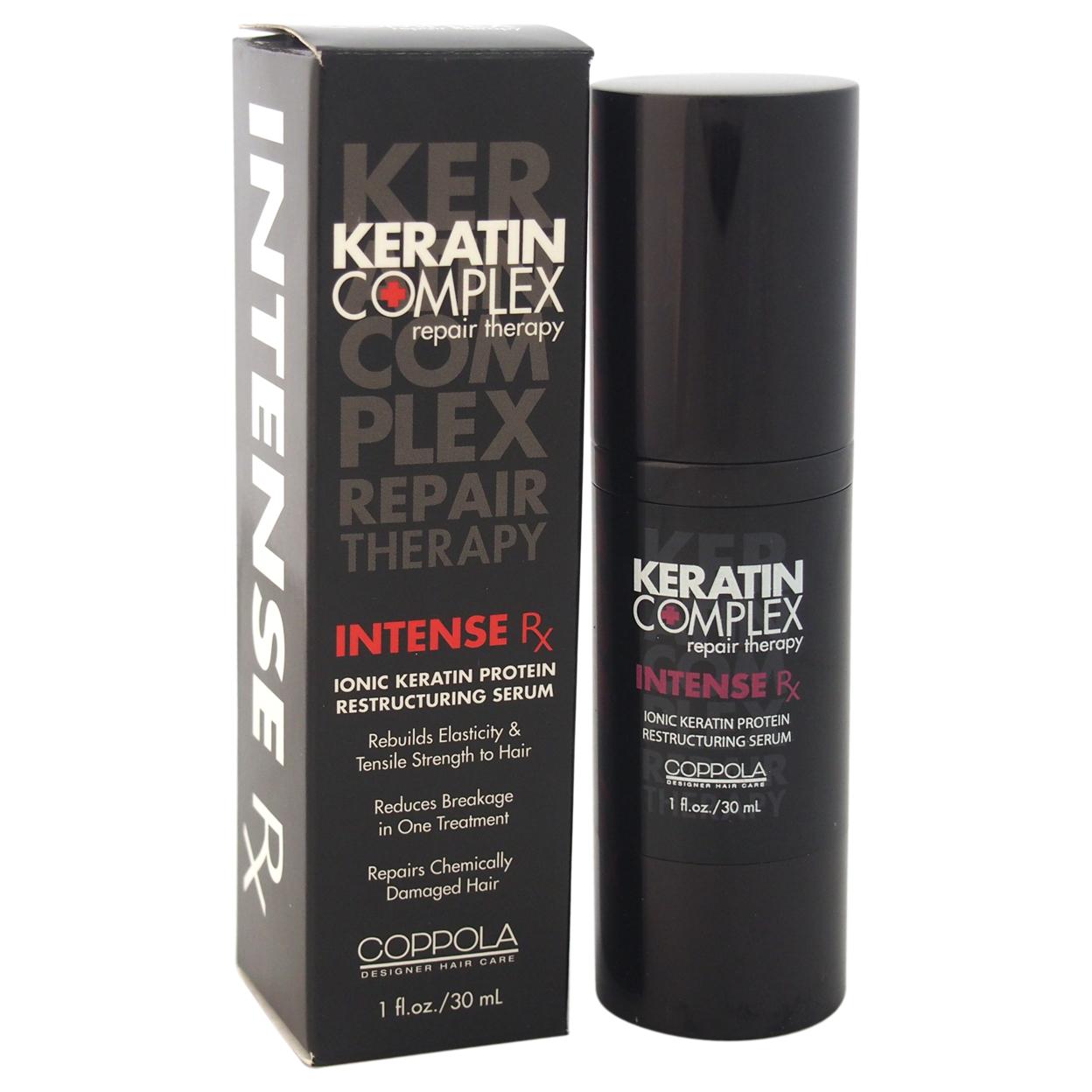 Keratin Complex Intense Rx Restructuring Serum by Keratin for Unisex - 1 oz Serum 56d0b90aa3771c59288b8e18