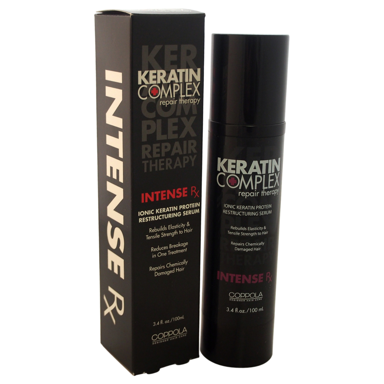 Keratin Complex Intense Rx Restructuring Serum by Keratin for Unisex - 3.4 oz Serum 56d0b90ba3771c59288b8e1e