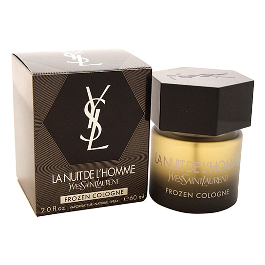 buy la nuit de l 39 homme frozen cologne by yves saint. Black Bedroom Furniture Sets. Home Design Ideas