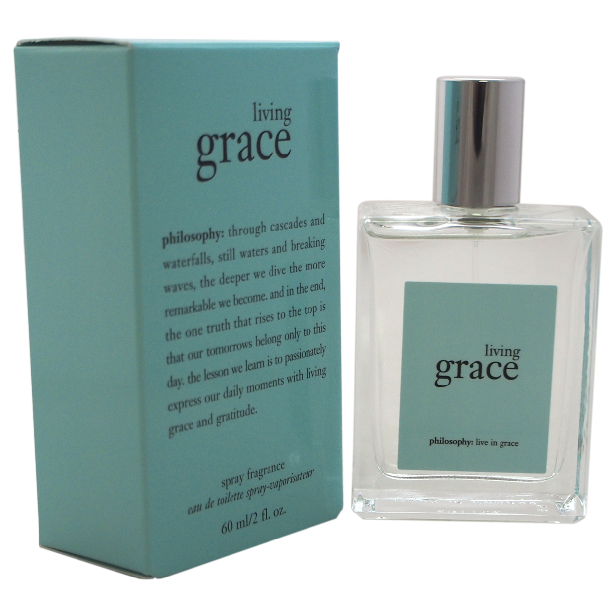 Living Grace by Philosophy for Women - 2 oz EDT Spray 583c6a37e2246159f30301c1