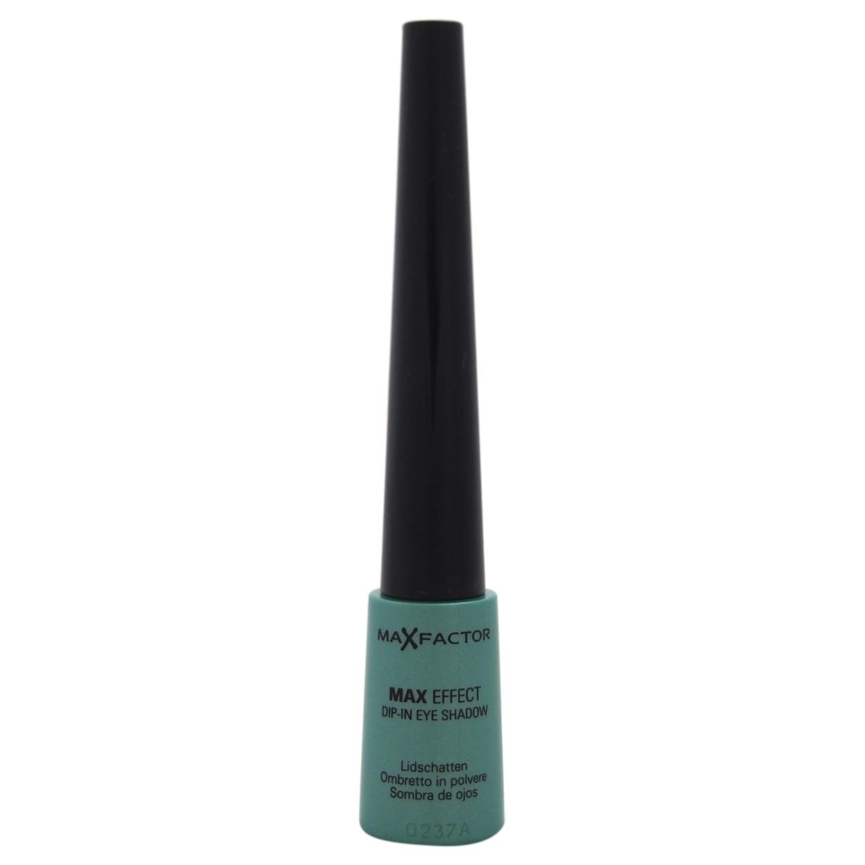 Max Effect Dip-In Eye Shadow - # 07 Vibrant Turquoise by Max Factor for Women - 1 g Eye Shadow 55bf9dbda2771c1c548b4c23