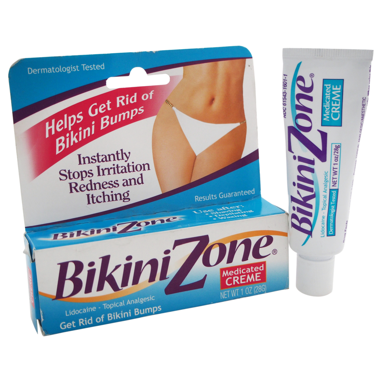 Medicated Creme by Bikini Zone for Women - 1 oz Creme 5898e18dc98fc4508f3b6573