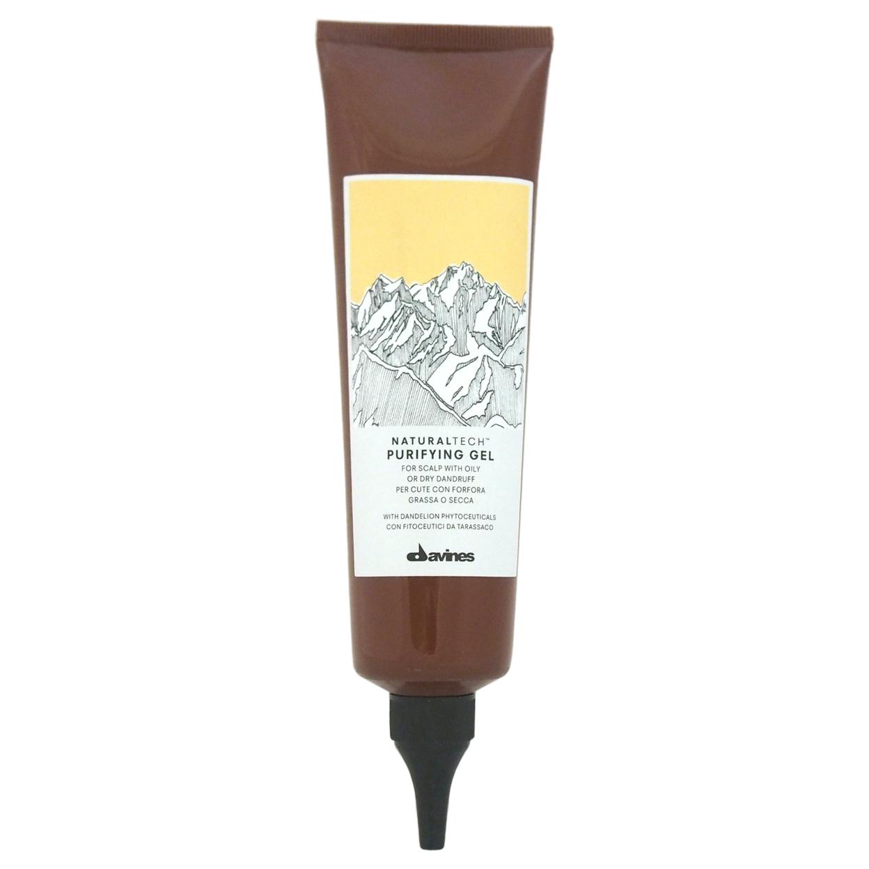 Naturaltech Purifying Gel by Davines for Unisex - 5.07 oz Hair Gel 583c6c33e2246159f435c7c6