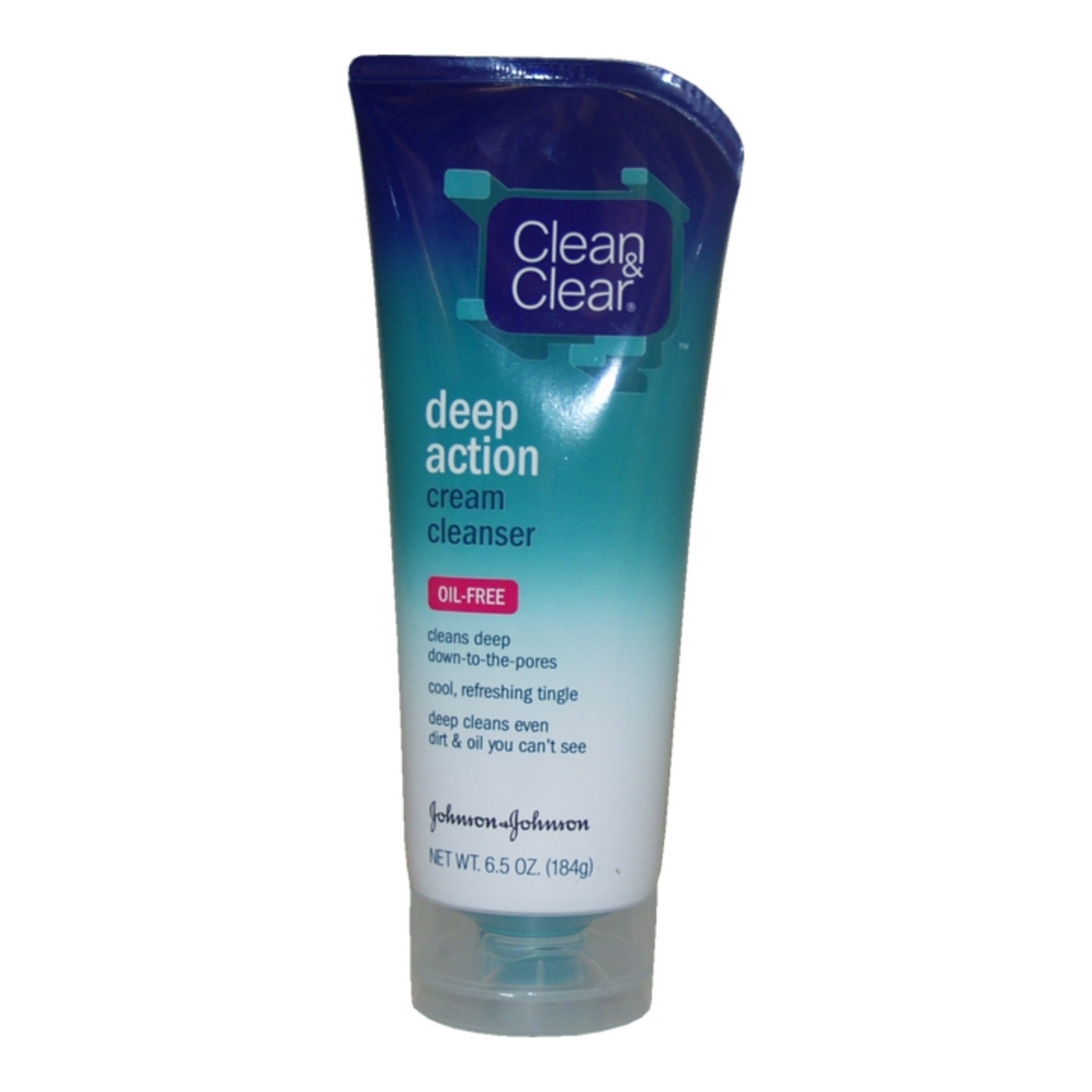 Oil Free Deep Action Cream Cleanser by Clean & Clear for Unisex - 6.5 oz Cleanser 5898e199c98fc4508f3b677f