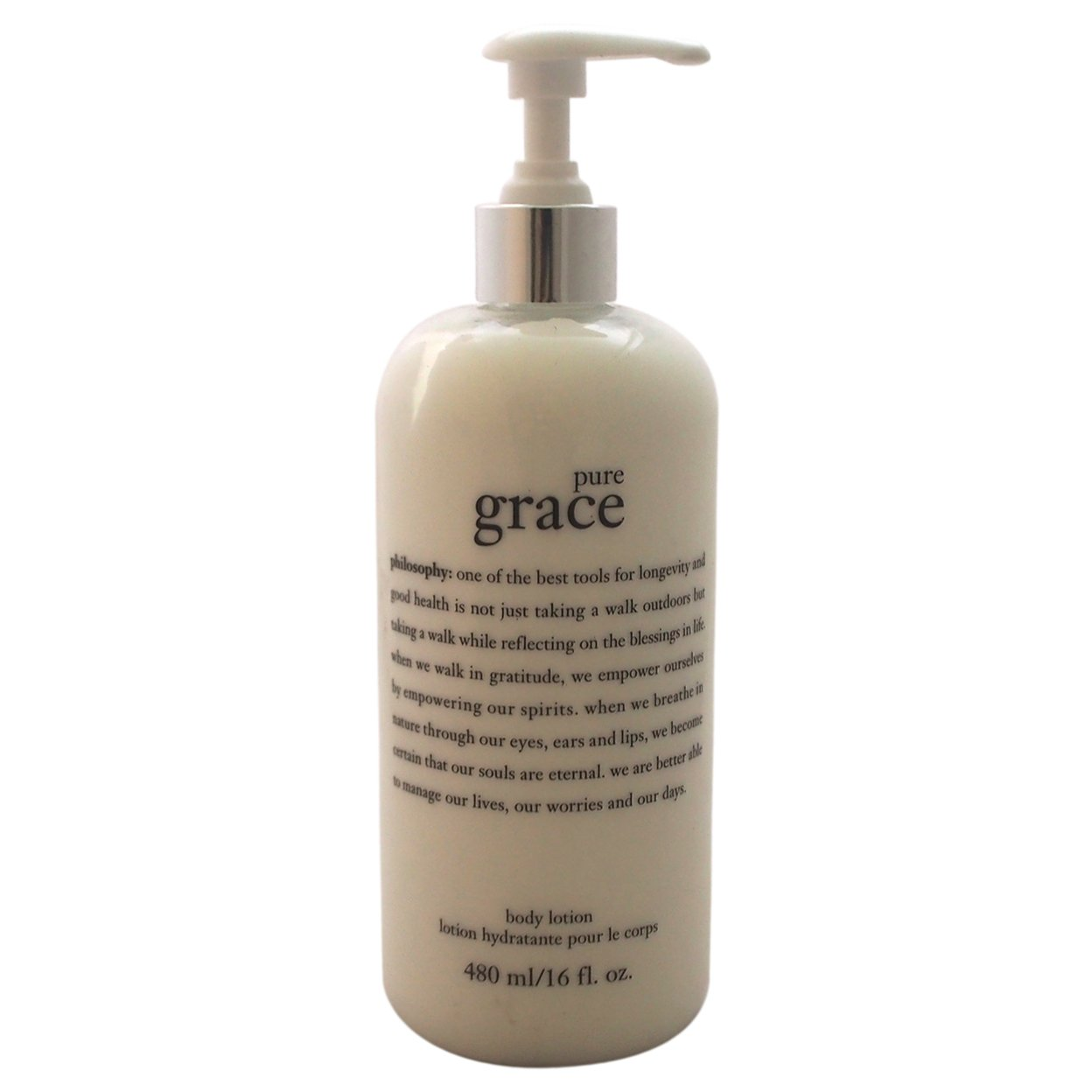 Pure Grace By Philosophy For Unisex 16 Oz Body Lotion