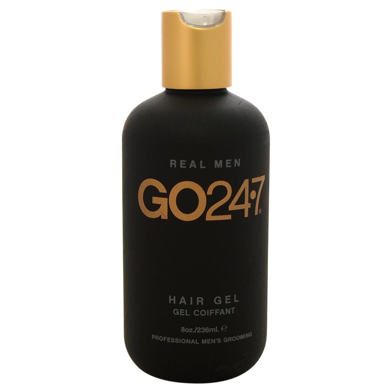 Real Men Hair Gel by Go247 for Men - 8 oz Gel 5898e1b0c98fc450900ecb96