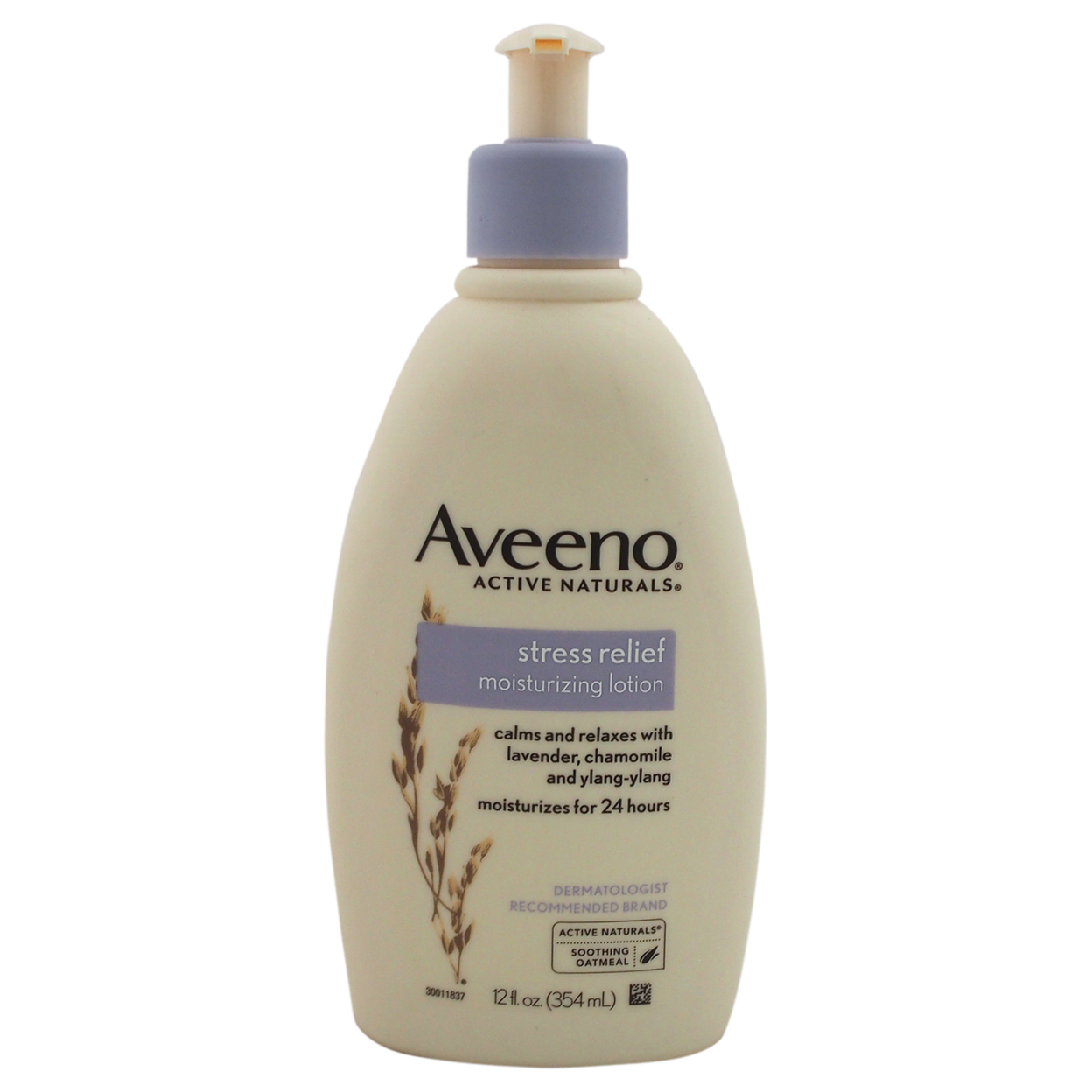 Stress Relief Moisturizing Lotion by Aveeno for Unisex - 12 oz Lotion 5898e18ac98fc450945d6ca5