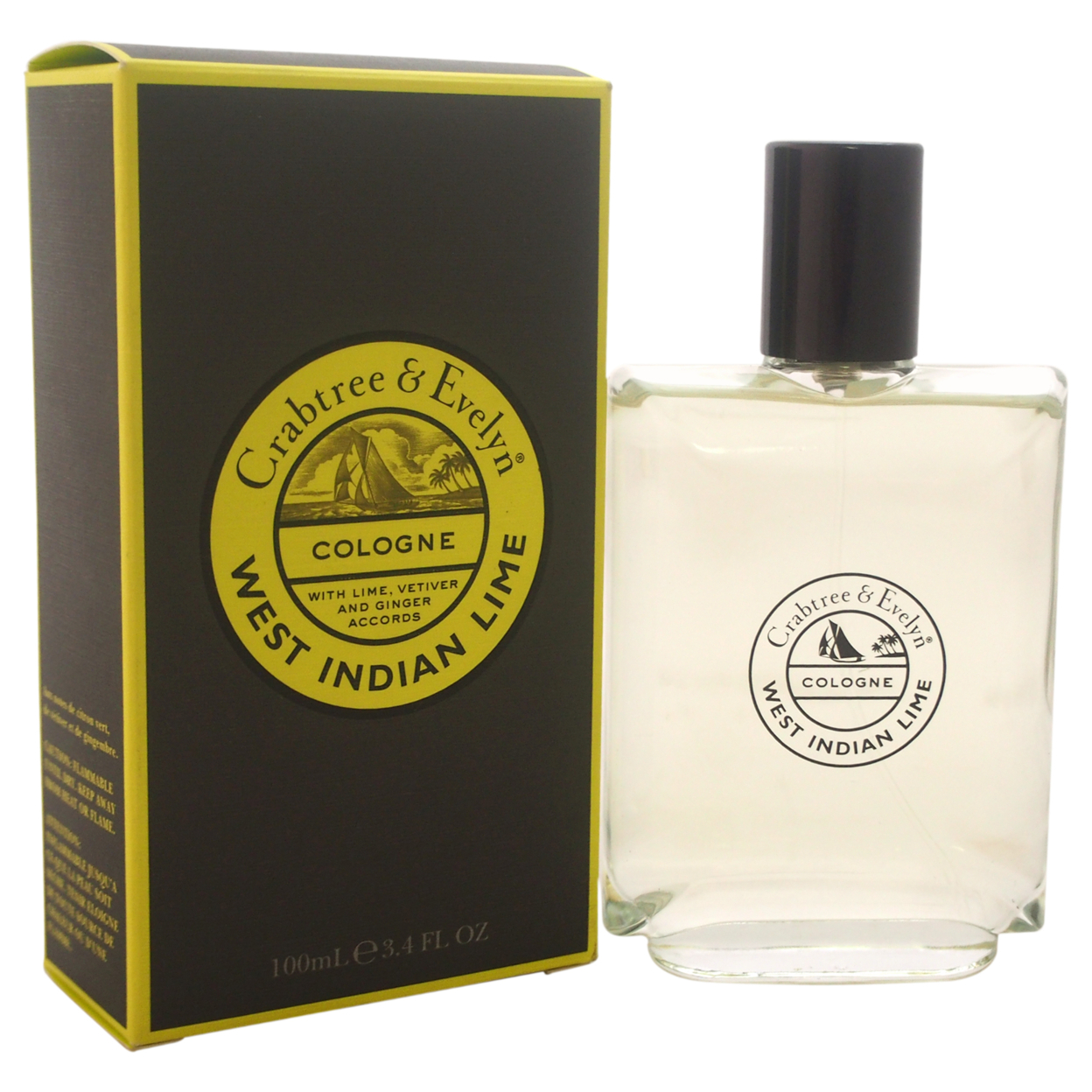 West Indian Lime by Crabtree & Evelyn for Men - 3.4 oz Cologne Spray 56d0b89ca3771c66288b6563