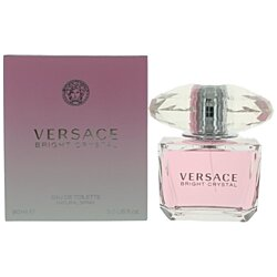 Versace Bright Crystal by Versace, 3 oz Eau De Toilette Spray for Women