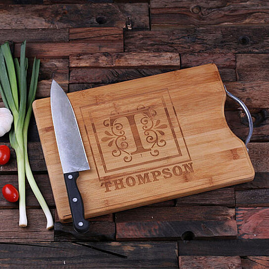 Buy Personalized Wood Cutting Board Engraved And