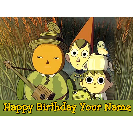 Buy Over The Garden Wall 4a Edible Photo Cake Topper Free Personalization By Personalize