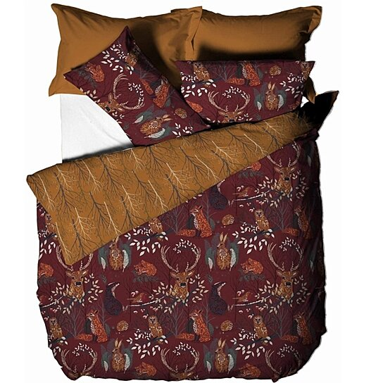 Buy Furn Forest Fauna Duvet Cover Set By Pertemba Us On Dot Bo