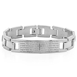Our Father Prayer ID Bracelet