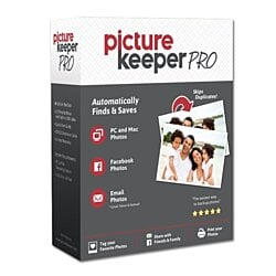 Picture Keeper Pro 500GB Digital Backup Solution for PC and MAC Computers