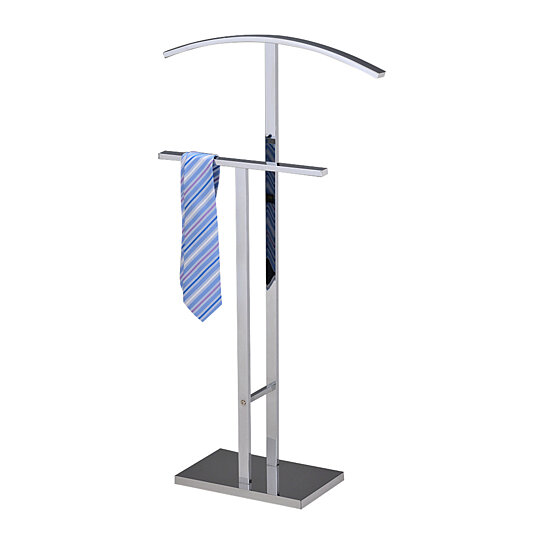Buy Pilaster Designs Chrome Finish Metal Suit Rack Valet