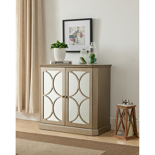 Foyer Display Cabinet : Buy gold wood accent entryway sofa display table with