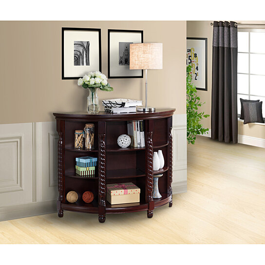 Foyer Console Kit : Buy cherry wood entryway console sofa buffet table with