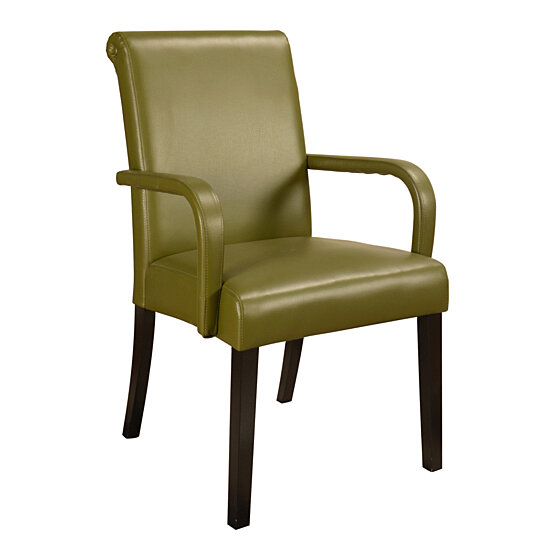 Pics photos set of 2 cream accent chairs solid wood construction