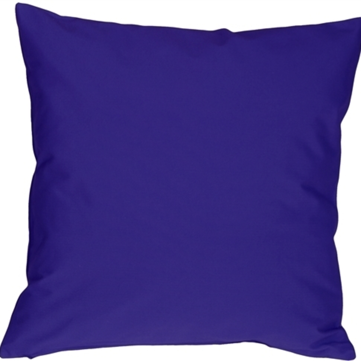 Pillow Decor Caravan Cotton Royal Blue 20x20 Throw Pillow