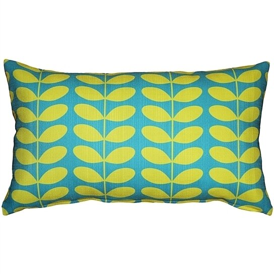 Buy Pillow Decor - Mid-Century Modern Turquoise Throw Pillow 12x20 by Pillow Decor on OpenSky