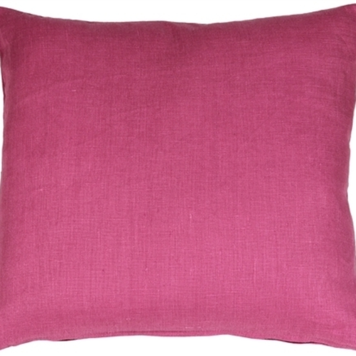 Pillow Decor Tuscany Linen Orchid Pink 17x17 Throw Pillow