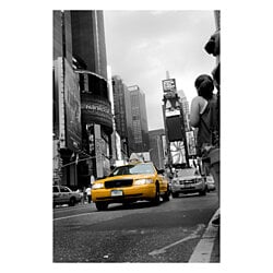 Shining Cab Abstract Photography, Wall Art Print (Unframed)