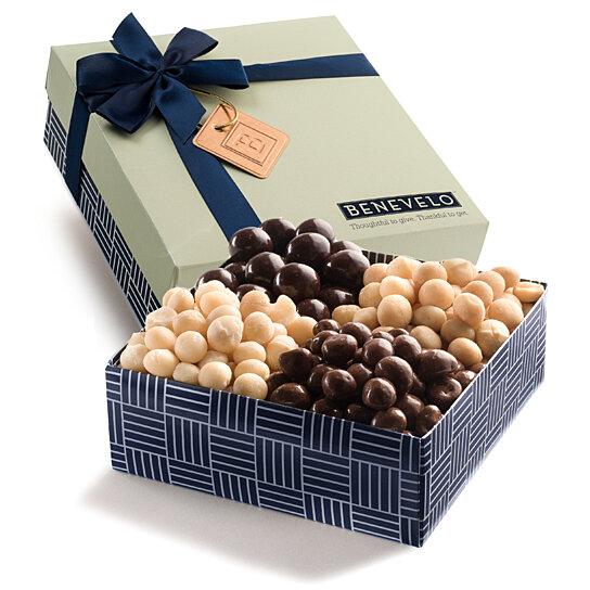 Buy Gourmet Macadamia Nut Sampler Gift Basket A