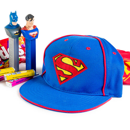 Chocolate Baseball Cap: Buy Superman Kids Baseball Cap Candy Gift Collection