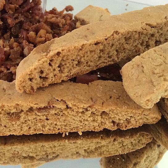 Bacon Chocolate Chip Biscotti Recipe — Dishmaps