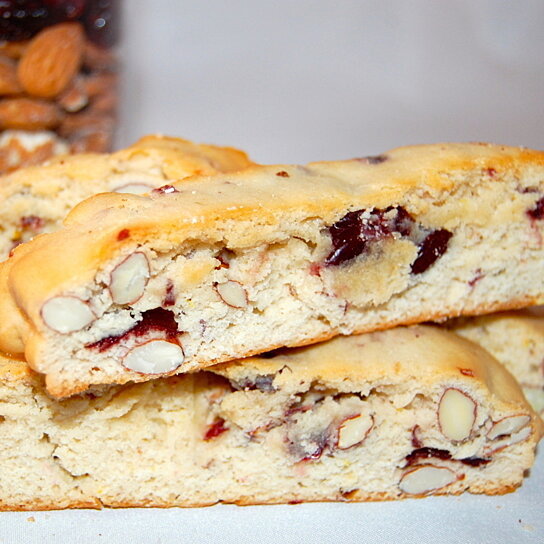 Buy Cranberry Almond Biscotti Cookies by Pizzscotti on OpenSky