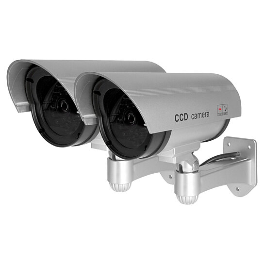 Buy Best Vision Outdoor Bullet Dummy Camera With Flashing