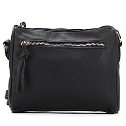 Classic Vegan Leather Crossbody Shoulder Bag