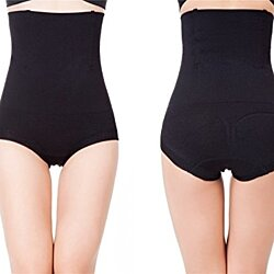 Women's Shapewear Hi-Waist Brief Firm Tummy Control Butt Lifter Panty Shaper