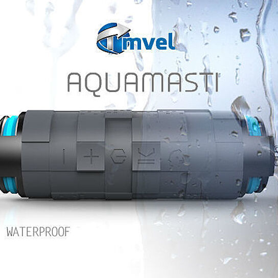 Tmvel Aquamasti Rugged Wireless Bluetooth 4 0 Shockproof Waterproof Speakers With Battery Charger Retail Packaging Grey By Por Electronics On