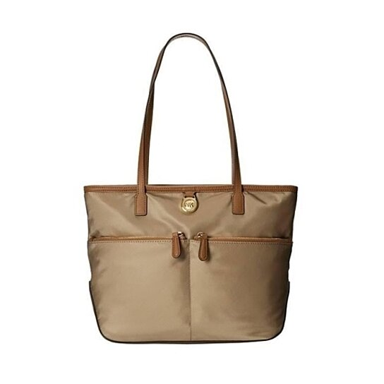 bef7ea947d9704 Trending product! This item has been added to cart 64 times in the last 24  hours. MICHAEL KORS Kempton Medium Pocket Nylon Tote Handbag